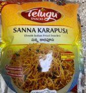 Telugu Snacks Sanna Karapusa 170 Gm