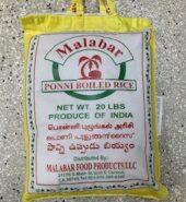 Malabar Ponni Boiled Rice 20Lbs