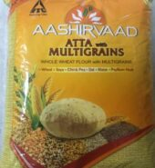 Aashirvaad Whole Wheat Multigrain Flour 4Lb
