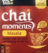 Tea India Chai Moment Masala Tea Mix 10Pcs
