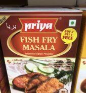 Priya Fish Fry Masala Powder  50Gm