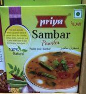 Priya Sambar Powder 100Gm