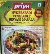 Priya Hyderabadi Vegetable Biryani Masala Powder 50Gm
