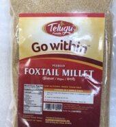 Telugu Foxtail Millet 2Lb