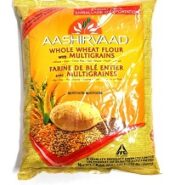 Aashirvad Whole Wheat Multigrain Flour / Atta 10 Lb