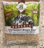 24Mantra Organic Sona Masuri Brown Rice 2.2Lb