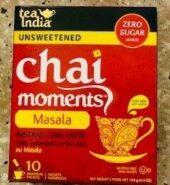 Tea India Chai Moment Masala Tea Mix Unsweetened 10Pack