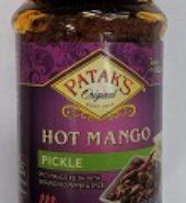 Patak Hot Mango Relish 10Oz