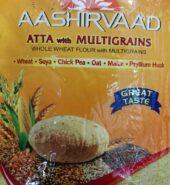 Aashirvaad Whole Wheat Multigrain Flour / Atta 20Lb