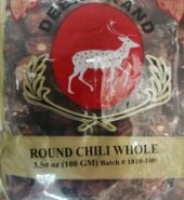 Deer Chili Whole Round 100Gm