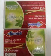 Diamond Match Box 10 Pack
