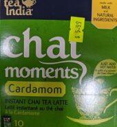 Tea India Chai Moment Cardamom Tea Mix 10Pack