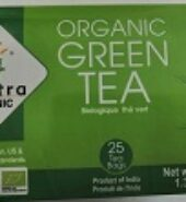 24Mantra Organic Green Tea Bags 1.32Oz – 25Nos
