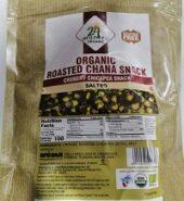 24Mantra Organic Roasted Chana Snack 10Oz