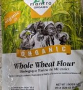 24Mantra Organic Whole Wheat Atta 20Lb