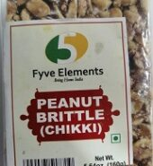 Fyve Elements Peanut Chikki 160Gm