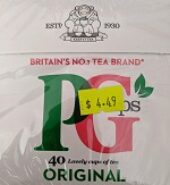 Pg Tips Teabags 40 Counts