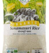 24Mantra Organic Sona Masuri White Rice 10Lb