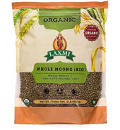 Laxmi Organic Whole moong 2lb