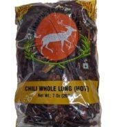 Deer Chilli Wholelong Hot 200Gms