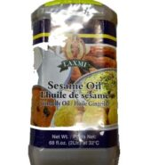 Laxmi Indian Gingelly / Sesame Oil 68 Oz (2 Ltr)