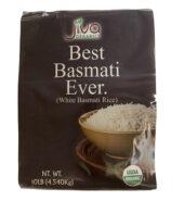 Jiva Organic Basmati Rice 10 Lbs