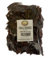 GM Red Chilli Whole Stemless 200g