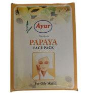 Ayur Papaya Face Pack 100 Gms