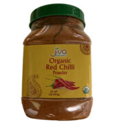 Jiva Organic Chilli Powder in Jar 1Lb x 12pcs