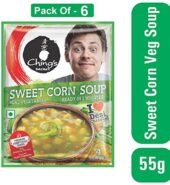Chings Sweet Corn Soup 55g B2G1F