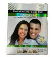 biogreen herbal Natural black hair color shampoo(5 sachets)