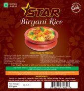Star Biryani Rice Ready to Cook 270 G